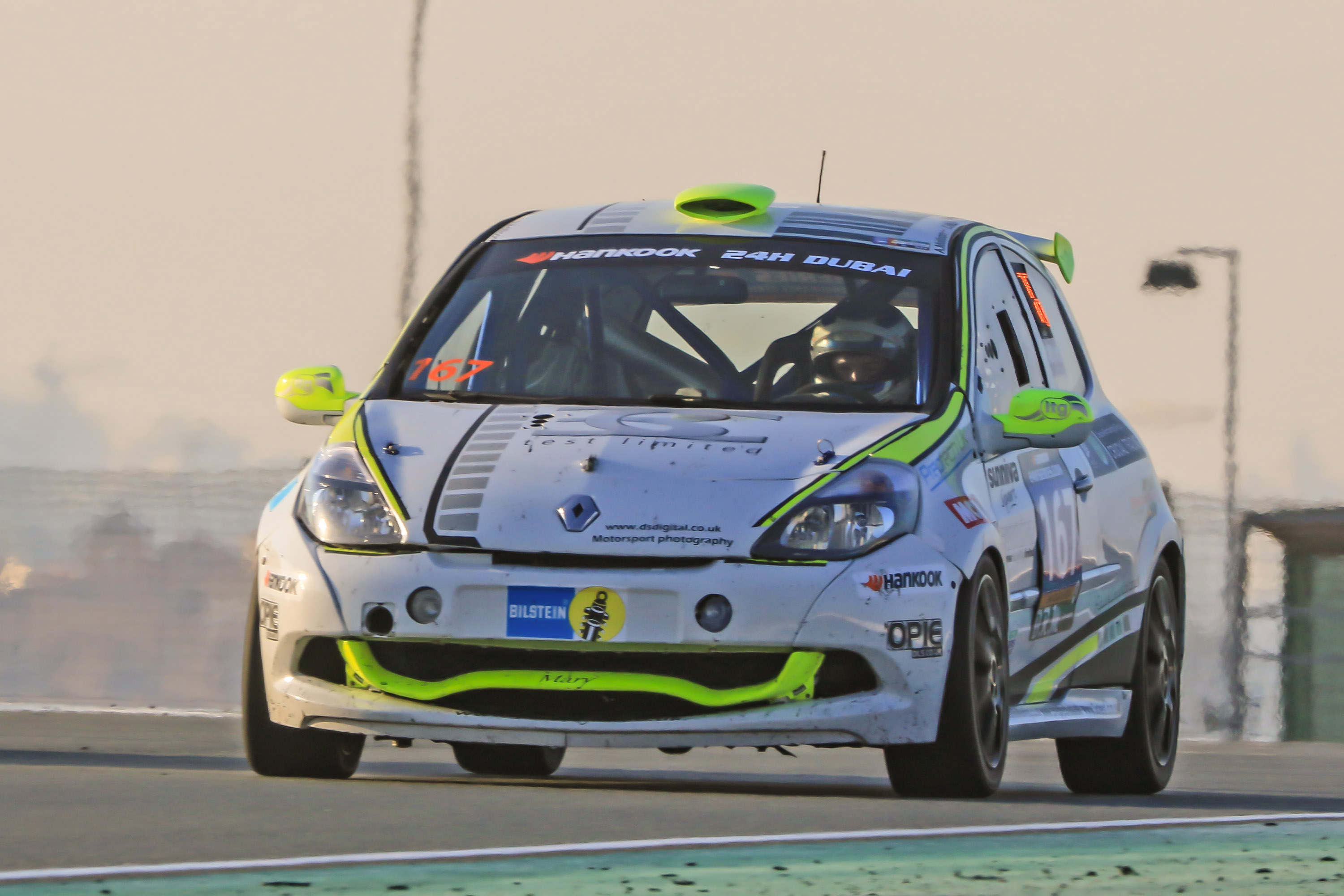 Drives available in Preptech UK's Class 6 Clio Cup